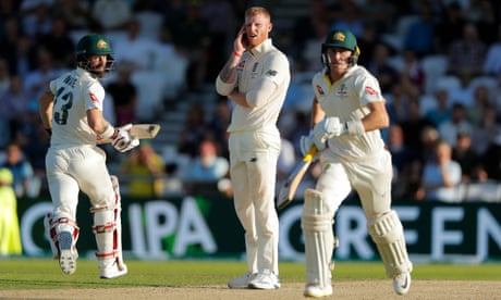 Ashes 2019: England skittled for 67 v Australia, third Test day two – as it happened