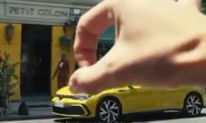 Volkswagen has admitted the ad was racist and insulting.