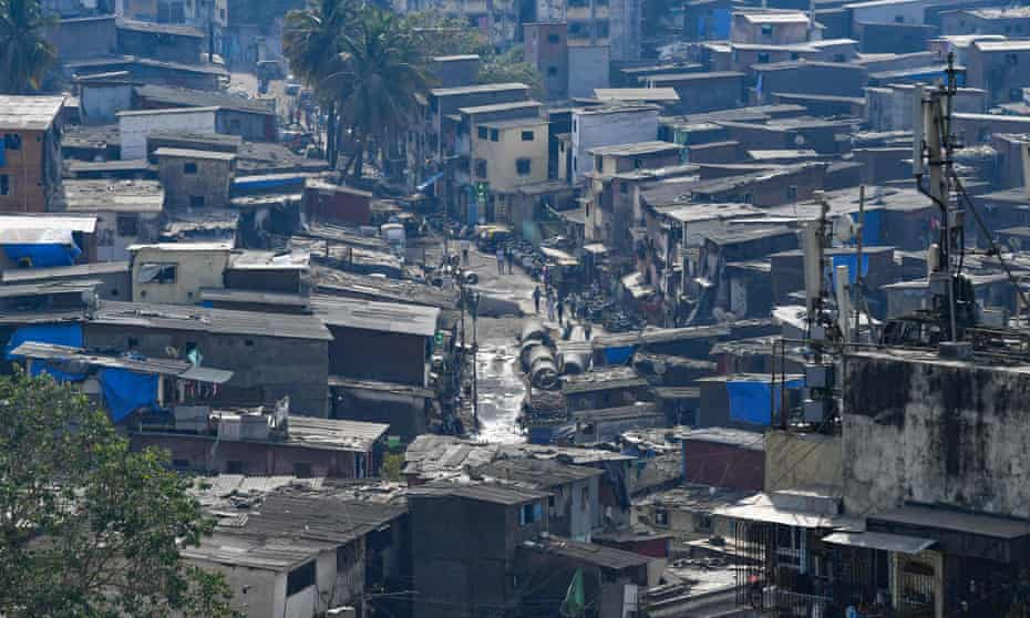 Dharavi during a government-imposed nationwide lockdown