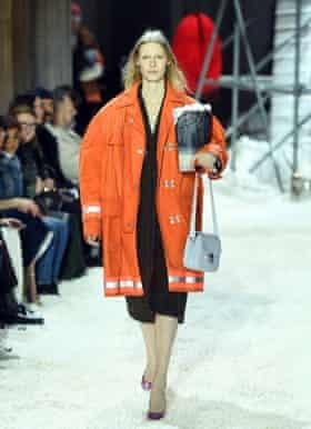 Calvin Klein 205W39NYC show, New York Fashion Week 2018.