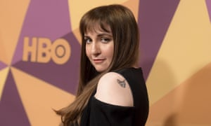 Lena Dunham: her award-winning sitcom Girls spawned a whole new genre of television