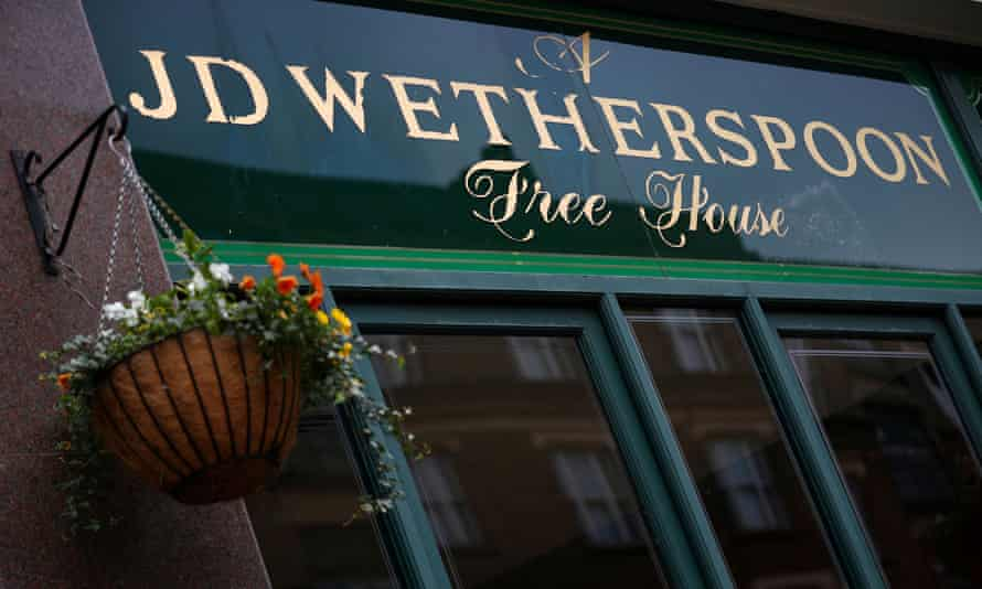 JD Wetherspoon sells 55m cups of coffee a year.