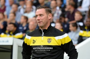Notts County manager Kevin Nolan will be hoping to make his mark during his first full season at Meadow Lane