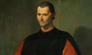 Niccolo Machiavelli, by Santi di Tito.