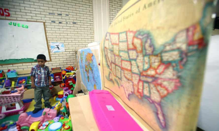 immigration migration children mcallen church texas