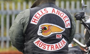 Wearing bikie club colours in public banned under Queensland