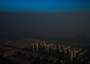 Contemporary issues, first prize, singles - Zhang Lei - Tianjin, a city in northern China, shrouded in haze