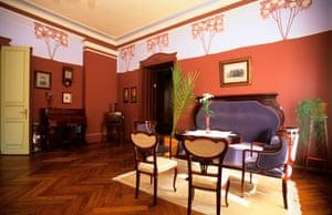 The art nouveau Hotel Villa Ammende in Pärnu