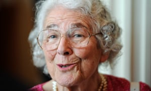 Judith Kerr is received at the Red Town Hall in Berlin, Germany