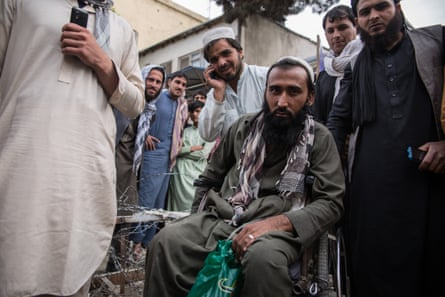 Shah Faizal, 25, has a spinal cord injury and plans to get medical treatment in Pakistan.