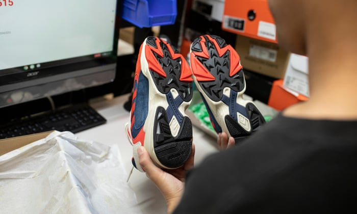 first rate 106a0 a60dd Sole traders: why there's a whiff of money in old trainers ...