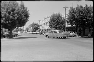 Moree's main street, 1965