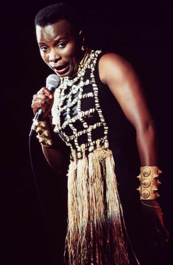 Angélique Kidjo in the 90s
