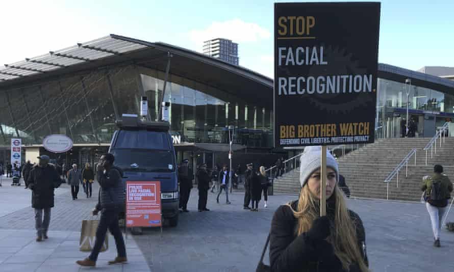Silkie Carlo protests in Stratford