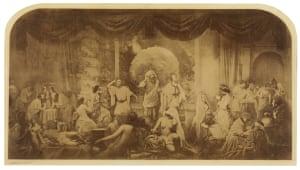 Two ways of Life, 1856-7, by Oscar Rejlander