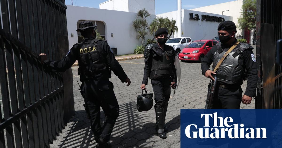 Nicaraguan police raid opposition newspaper La Prensa
