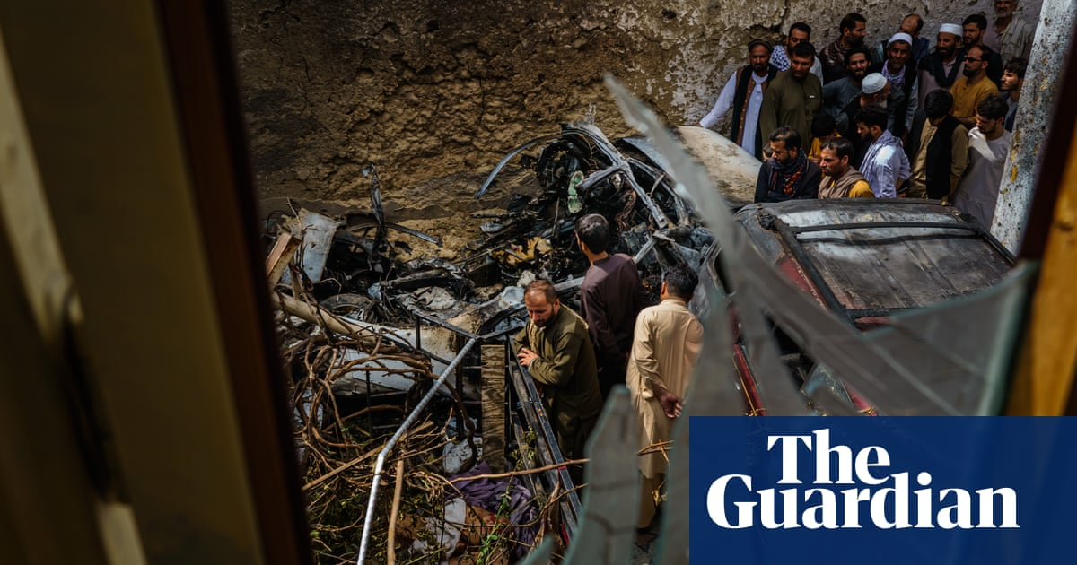 Pentagon says it can't 'dispute' accounts of Kabul strike that killed children