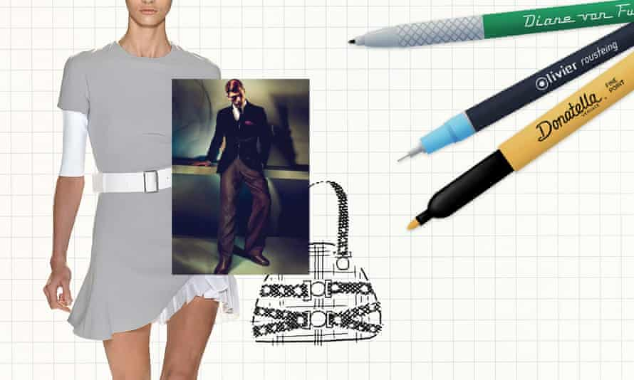 The dove grey dress of Victoria Beckham, the velvet jacket of Armani and the Tribute bag of Donatella … what works are designers most proud of?
