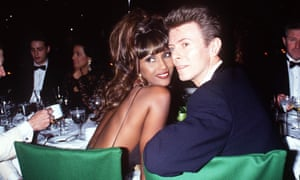 Bowie and Iman in 1993