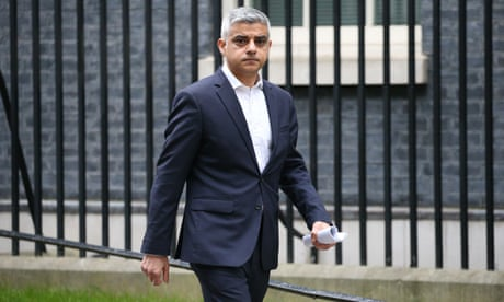 Sadiq Khan warns of coronavirus crime rise if poverty not tackled