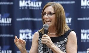 Martha McSally in Phoenix.