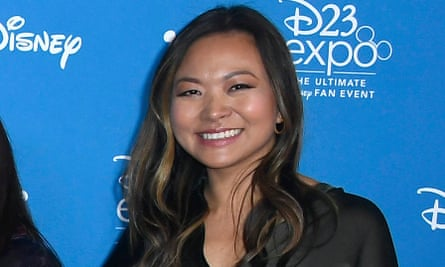 Adele Lim at the D23 Expo in Anaheim, California, on 24 August.