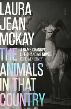 Cover image for The Animals in That Country by Laura Jean McKay