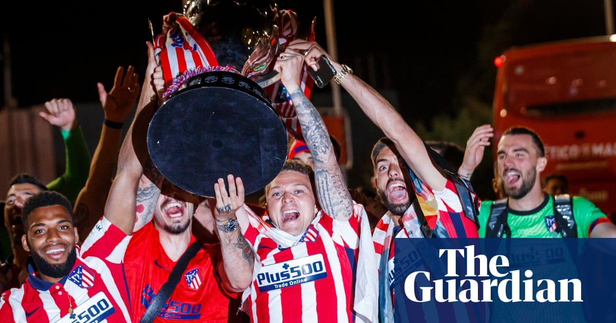 Kieran Trippier: 'It was carnage but understandable because for Atlético it was huge'