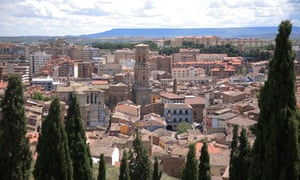 The city of Tudela in Navarre, Spain