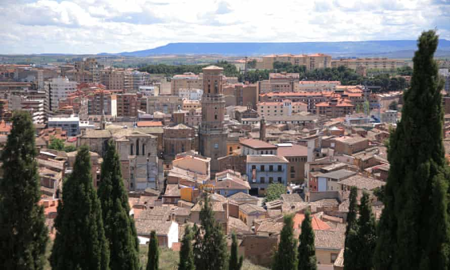 The city of Tudela in Navarre, Spain