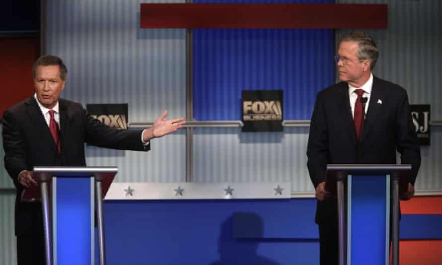Bush and Kasich