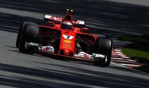 Raikkonen sets the fastest lap.