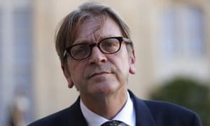 Guy Verhofstadt.