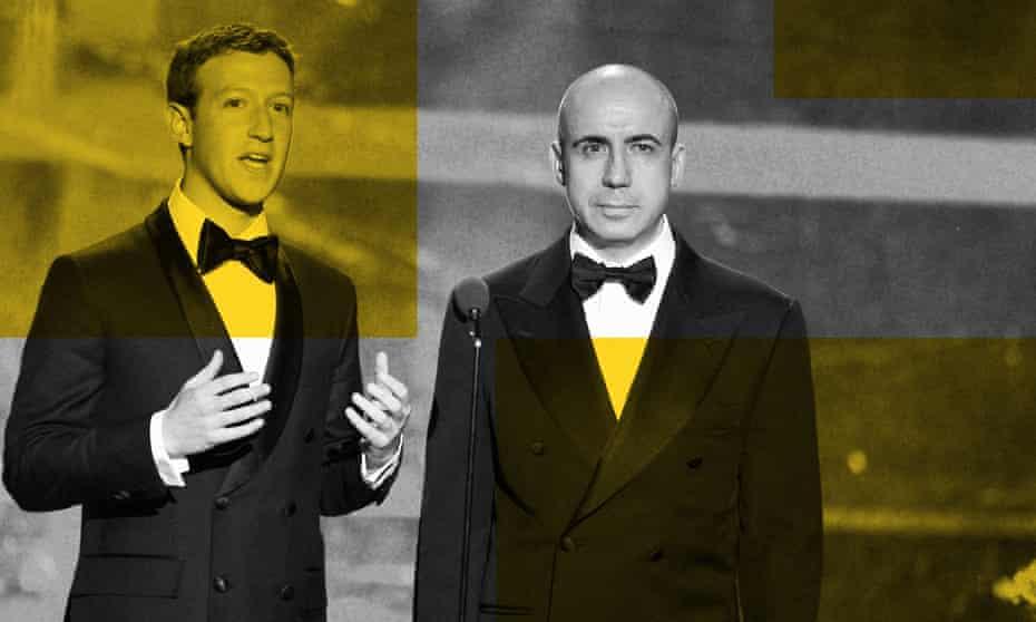 Mark Zuckerberg and Yuri Milner