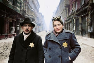 A Jewish couple in Budapest after liberation in 1945.