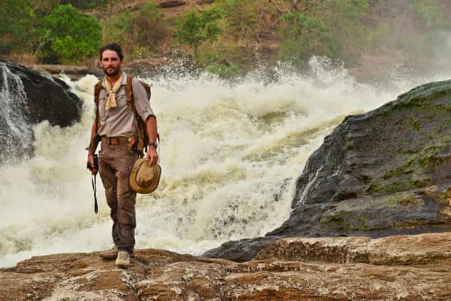 Levison Wood beside the Nile: 'It's about reminding yourself that you've got to stay on top of things and be as positive as you can.'