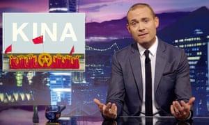 The satirical programme Svenska Nyheter
