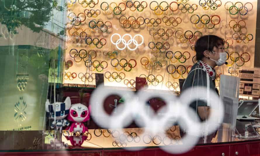 A lot of Olympic rings, earlier.