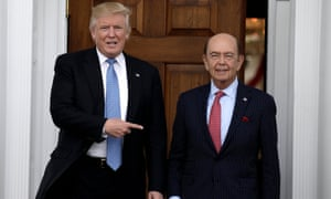 The disclosures revealed Ross retained an interest in a shipping company that does millions of dollars in business with Sibur, a gas company part-owned by the son-in-law of Vladimir Putin.