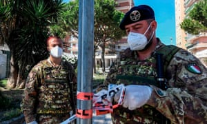 The military deployment is the second in less than a month. Italian soldiers were recently sent to control a 'red zone' in Mandragone, Caserta.