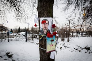 Ukrainians are marking the fourth anniversary of the bloody revolution that killed nearly 130 people in the capital, Kiev