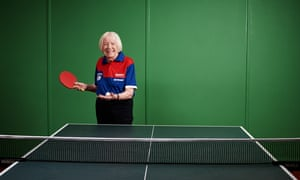 Pam Butcher, Table tennis champion, 88