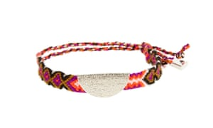 Sterling silver friendship bracelet, £45, Lucy Folk matchesfashion.com