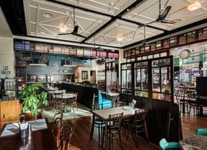 Dishoom's Birmingham restaurant.
