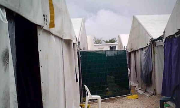 At least 330 refugees and asylum seekers, including 36 children, still live in mould-prone tents on Nauru