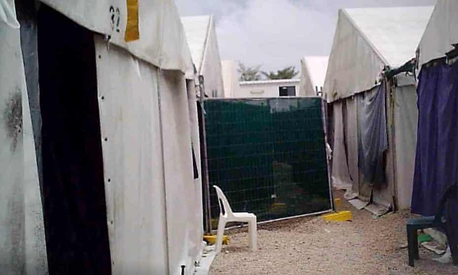 The Nauru Regional Processing Centre.