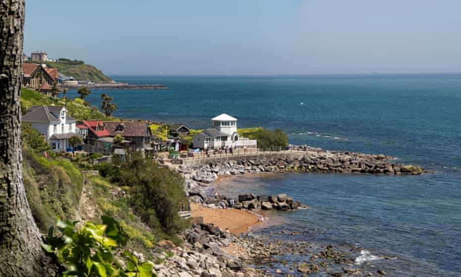 Steephill Cove on the Isle of Wight