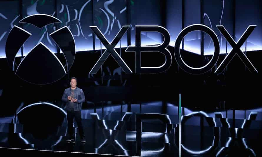 Phil Spencer, Executive President of Gaming at Microsoft, speaks during the Microsoft Xbox E3 briefing