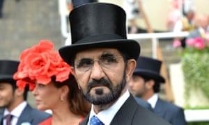 Sheikh Mohammad Bin Rashid Al Maktoum at Ascot.