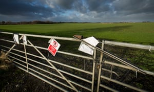 One of the sites where Cuadrilla hopes to carry out fracking in the Fylde area.